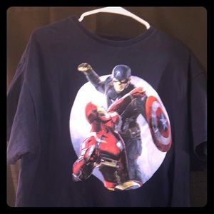 Marvel Captain America and Iron Man xl